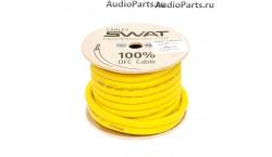 SWAT APS-0Y /силовой кабель 0Ga/50мм-15м/кат.желтый(+)/