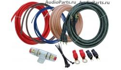 INCAR PAC-408 /набор проводов для подкл. 4х кан. усилителя 8Ga/