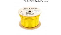 SWAT APS-045Y /силовой кабель 4Ga/20мм-30м/кат.желтый(+)/
