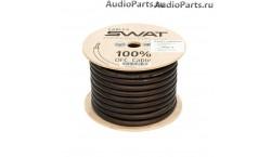 SWAT APS-02B /силовой кабель 2Ga/35мм-20м/кат.черный(-)/