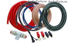 INCAR PAC-404 /набор проводов для подкл. 4х кан. усилителя 4Ga/